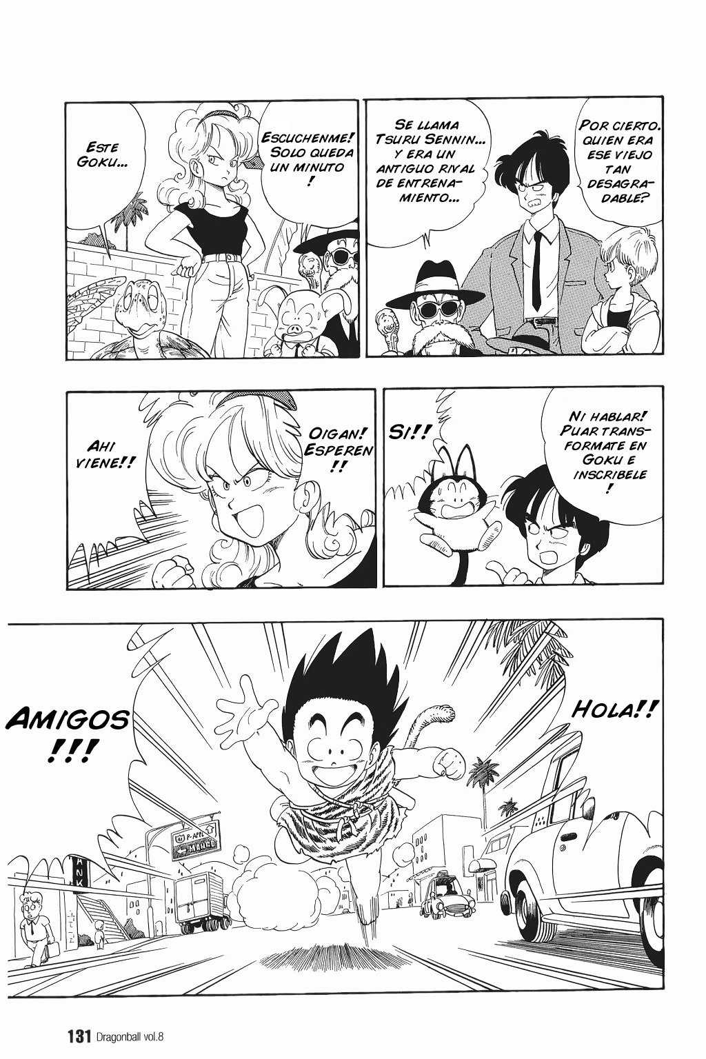 Dragon Ball Capítulo 113 [Manga]