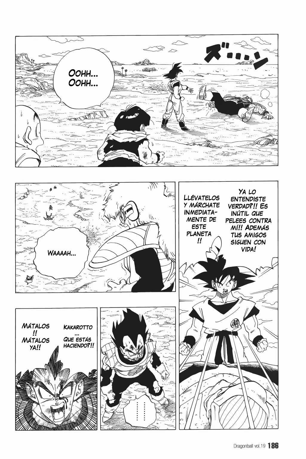 Dragon Ball Z Capítulo 282 [Manga]