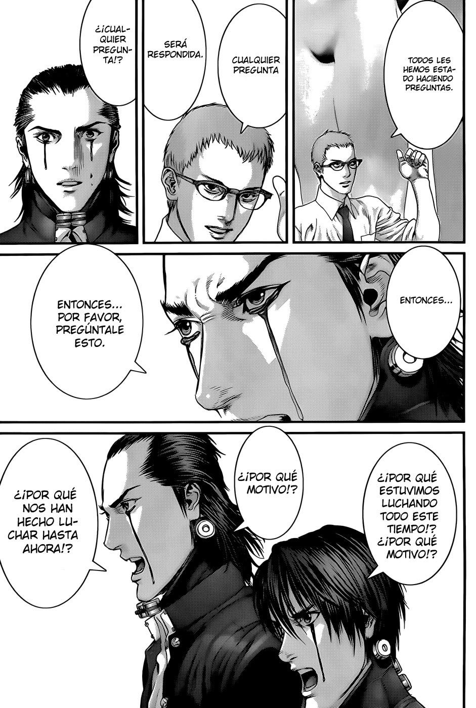 Manga Gantz capitulo 369 12