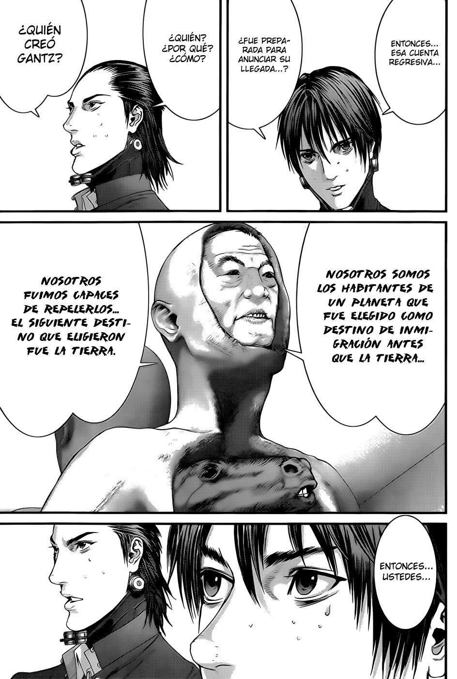 Manga Gantz capitulo 369 16