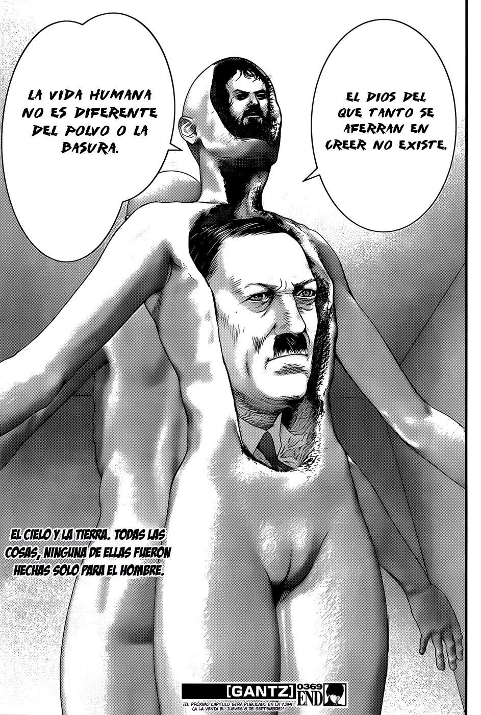 Manga Gantz capitulo 369 26