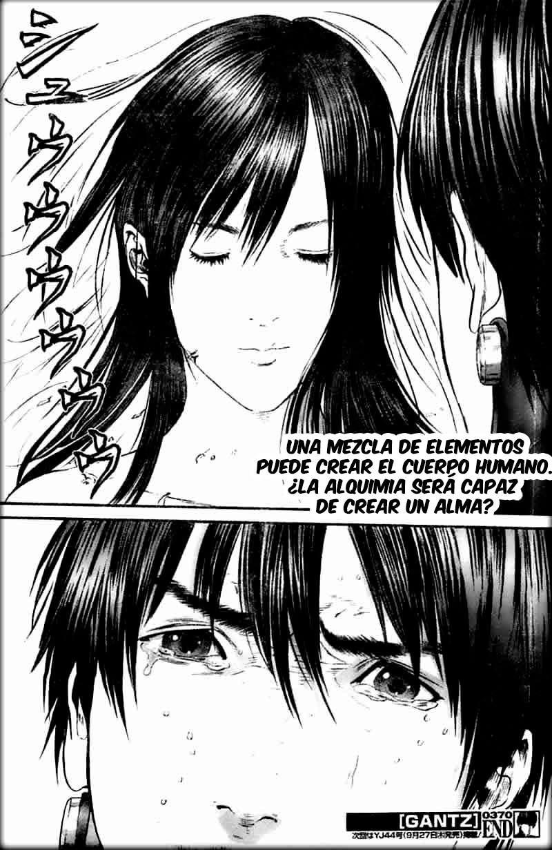 Manga Gantz capitulo 370 24