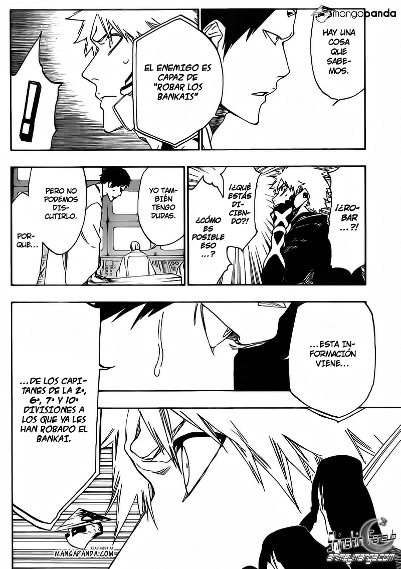 "[Aporte/Manga] Bleach 499 ""Rescuer In The Dark"""