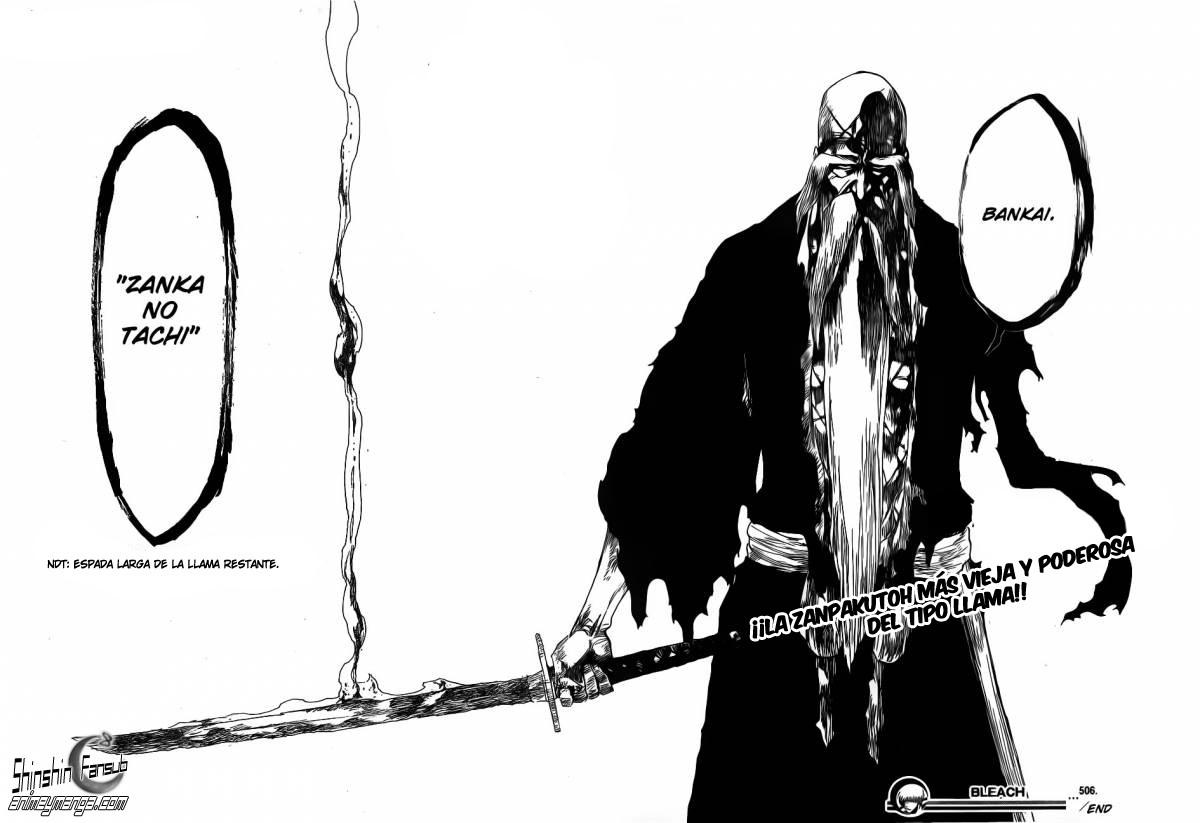 Post Oficial Bleach Manga Página 818 Cómic Manga