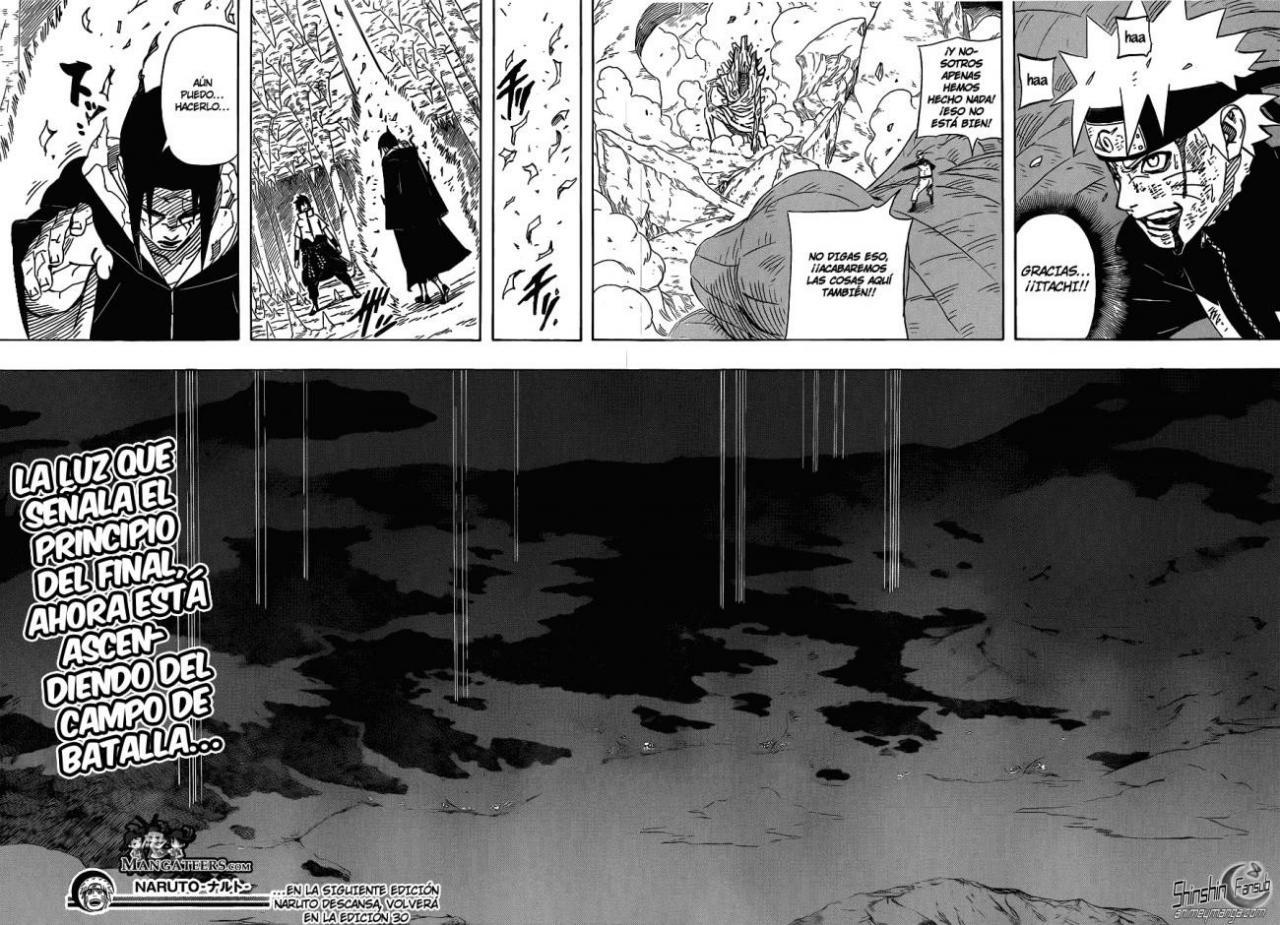 589 - Liberación del Edo Tensei Naruto13