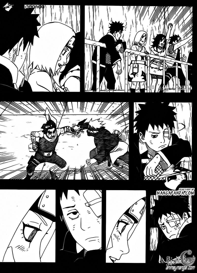 Naruto Shippuden Manga 599 ''Obito Uchiha'' Es Tobi (?