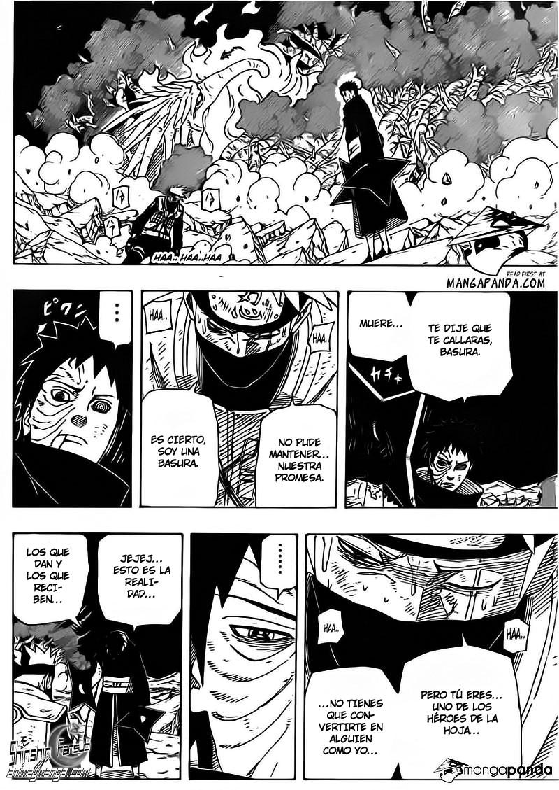 608 - ¡¡ La desicion de Kakashi !! 10