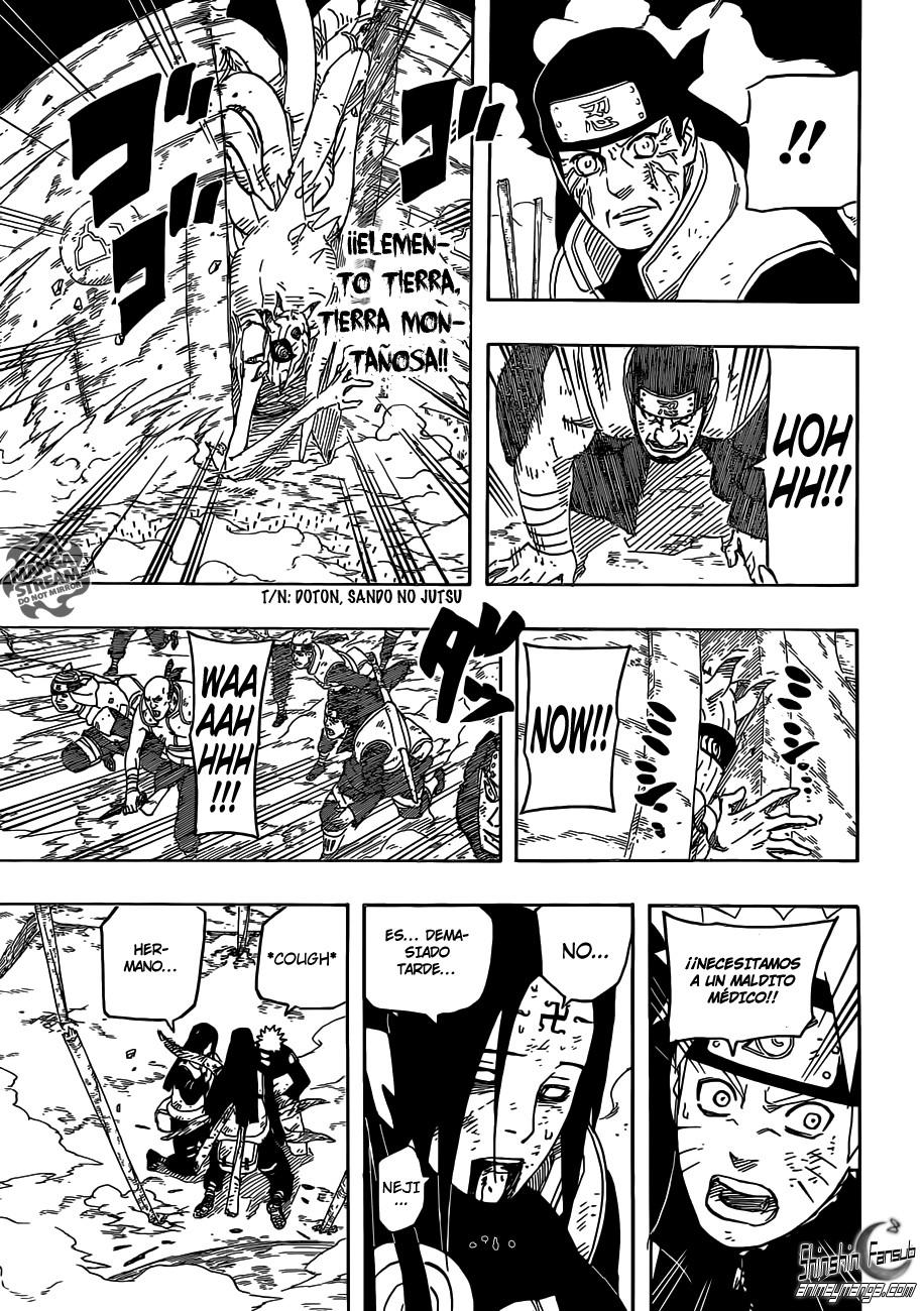 """Naruto shippuden 614""""Por ti""""[Manga]"""