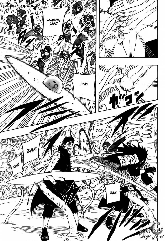 """Naruto shippuden 617""""Girando y aguantando 2""""[Manga"""