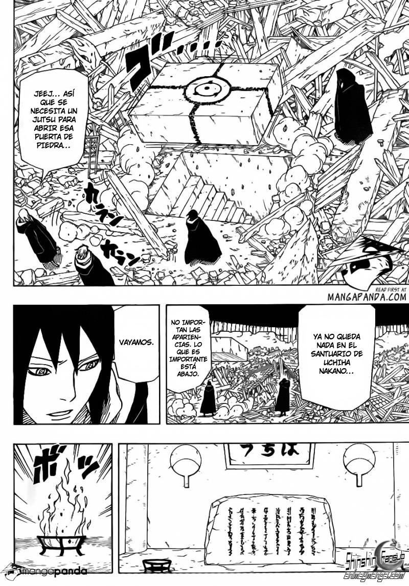 "Naruto shippuden 618""Los que lo saben todo""[Manga]"