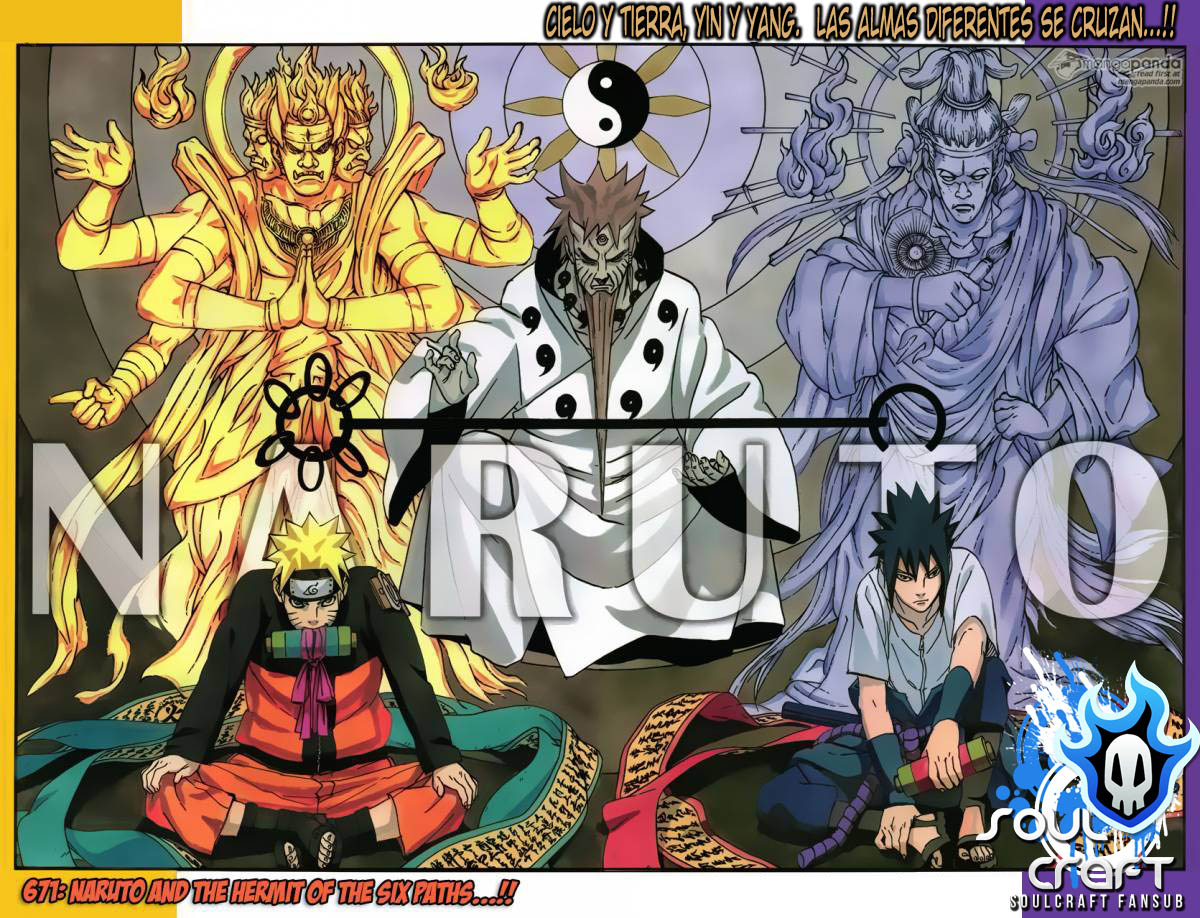 671 - Naruto and the hermit of the six paths...!! 001