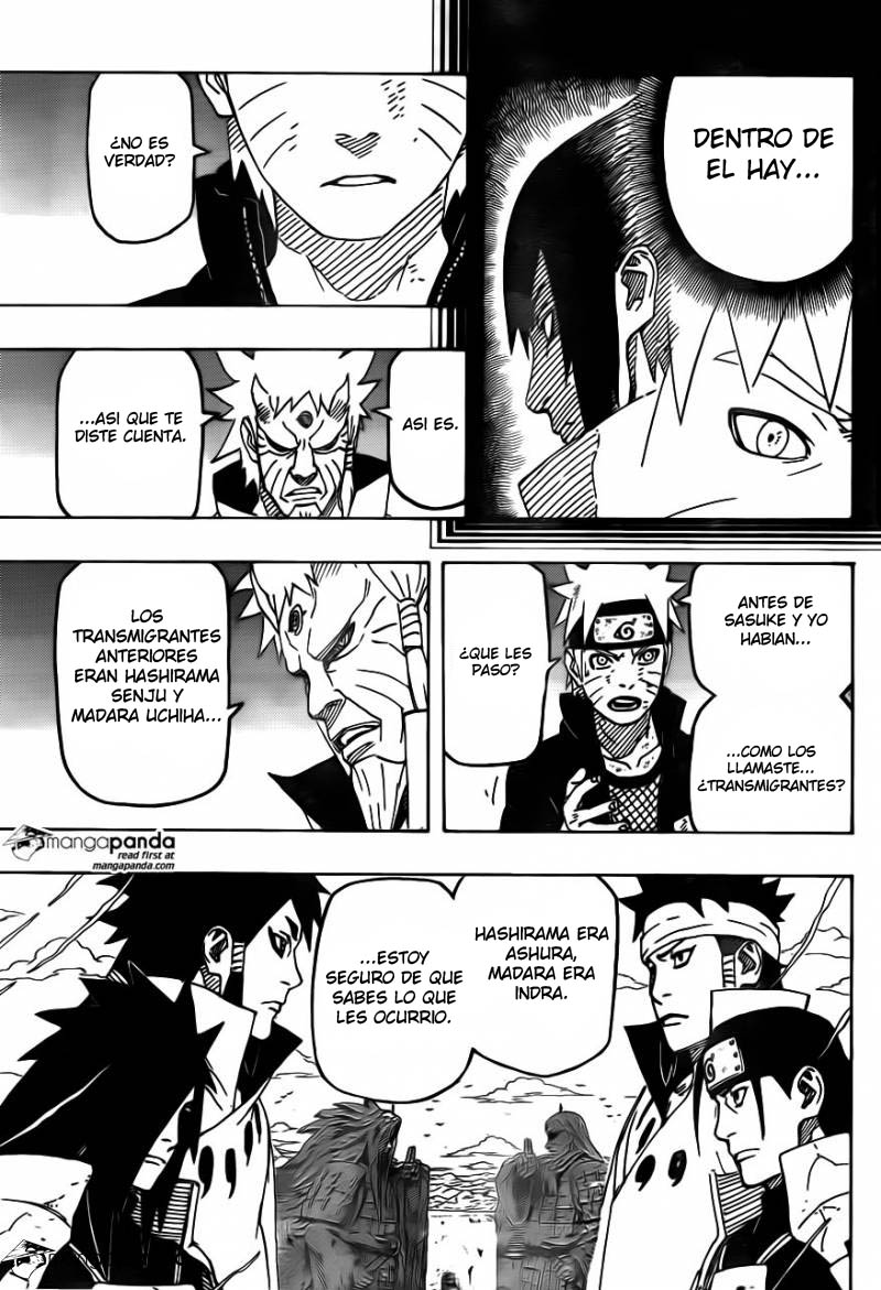 671 - Naruto and the hermit of the six paths...!! 005