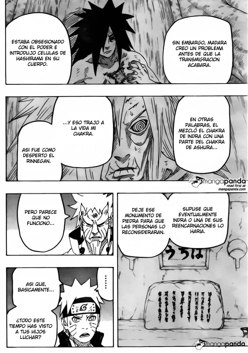671 - Naruto and the hermit of the six paths...!! 006