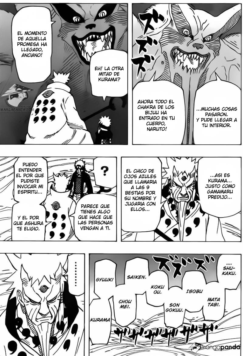 671 - Naruto and the hermit of the six paths...!! 011