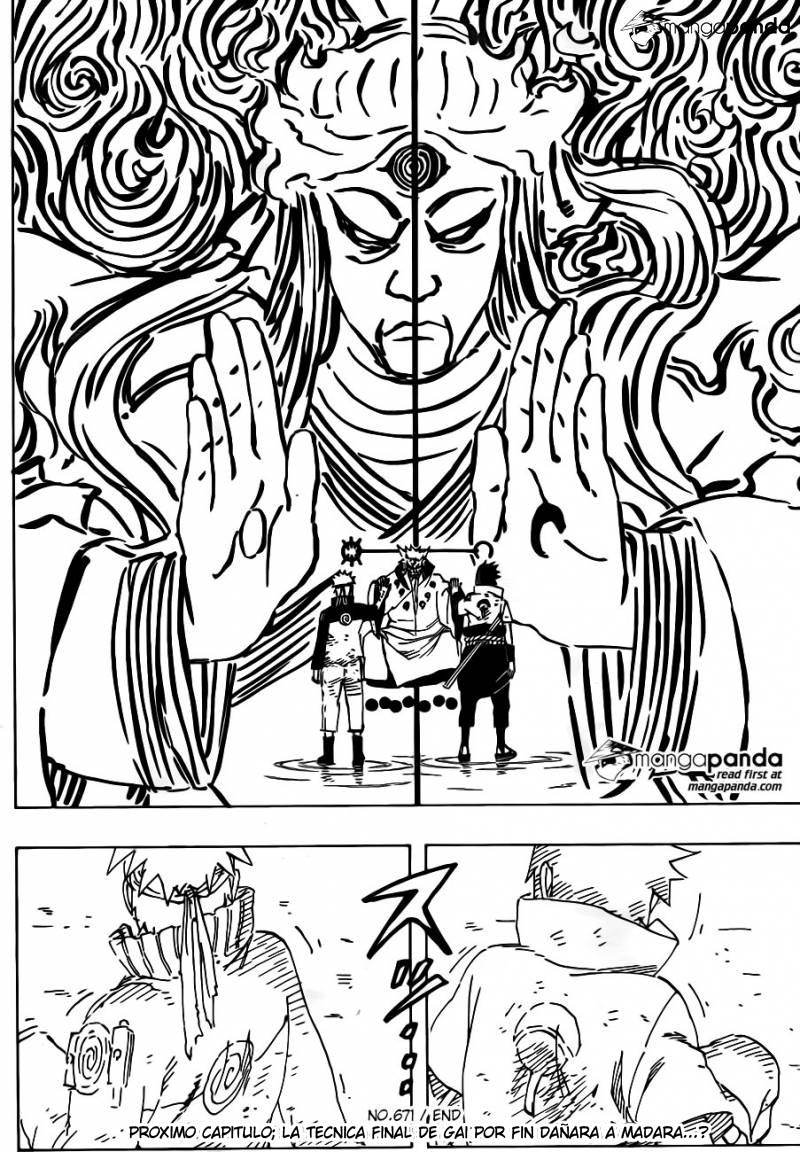 671 - Naruto and the hermit of the six paths...!! 016