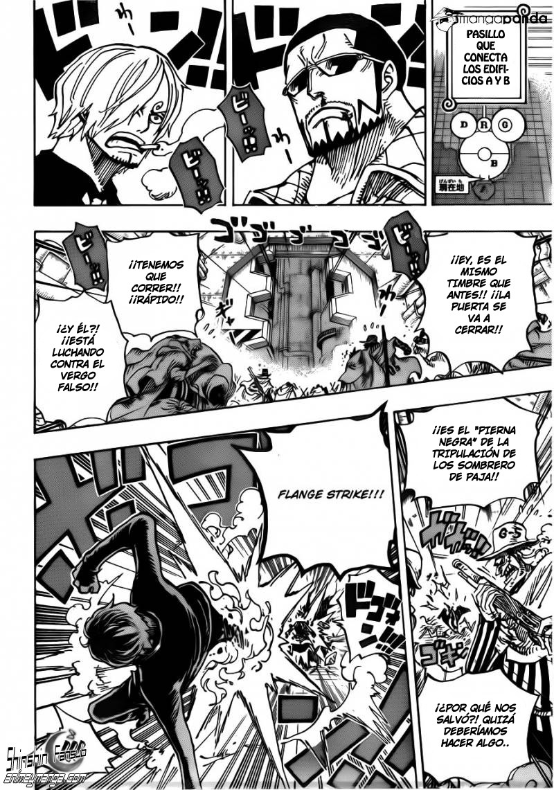 One Piece 681 - Luffy vs El Maestro 15